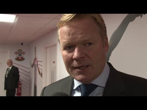 Koeman hails work rate after Everton win