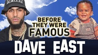 DAVE EAST | Before They Were Famous | Homeless to Rap Star