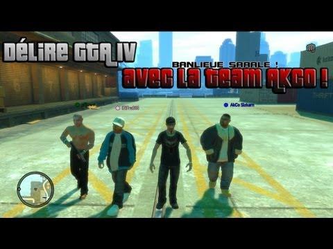 Délire GTA 4 avec l
