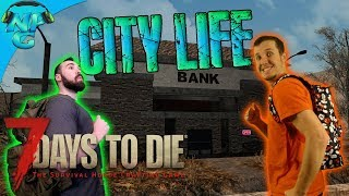Sweet OCD Base Satisfaction and a Long Loot Trip to the City! 7 Days to Die E42