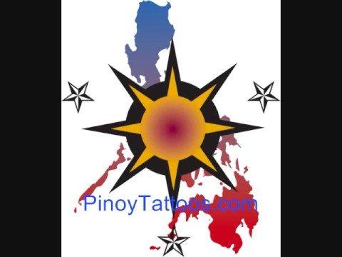 Danica Patrick American flag tattoo design her lower back. PinoyTattoos.com - Filipino Tattoo design ideas