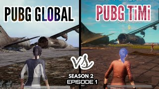 PUBG Global version vs PUBG timi  cancelled version