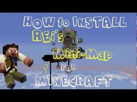 ★ How to Install Rei's Mini-Map Mod for Minecraft 1.5.2