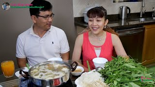 Ăn Lẩu Đuôi Bò Ngon Ngất Ngây Với Rau Tươi Mới Hái Sau Vườn 🇨🇦336》 Delicious Oxtail Soup Hot Pot
