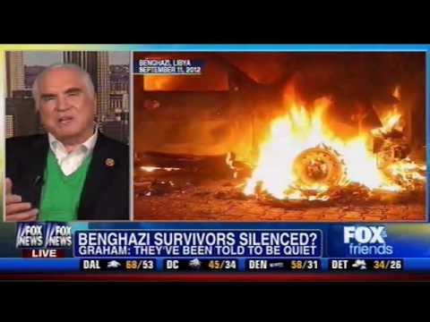 Rep. Kelly Discusses Benghazi & U.N. Arms Trade Treaty on Fox & Friends