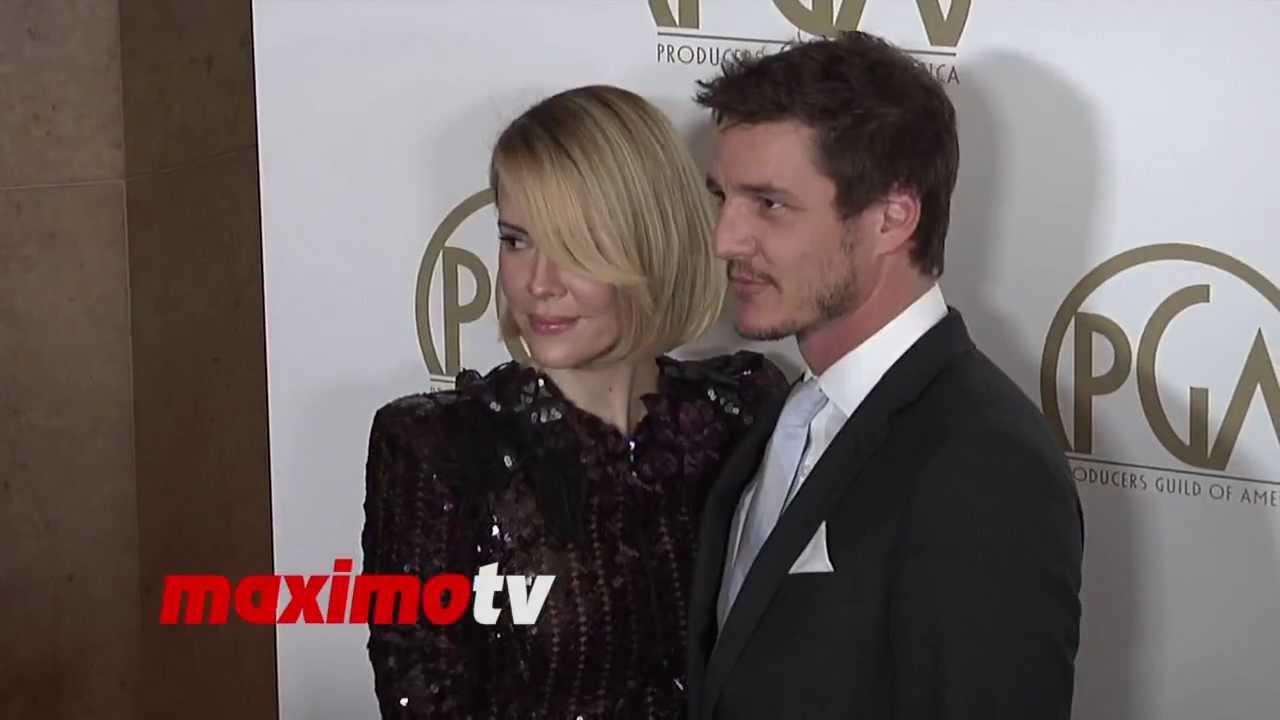 Sarah Paulson And Pedro Pascal 2014 Pga Awards Red Carpet