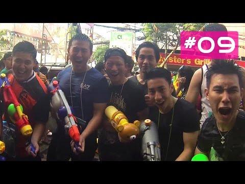 Songkran Festival in Bangkok - la fête de l'eau !