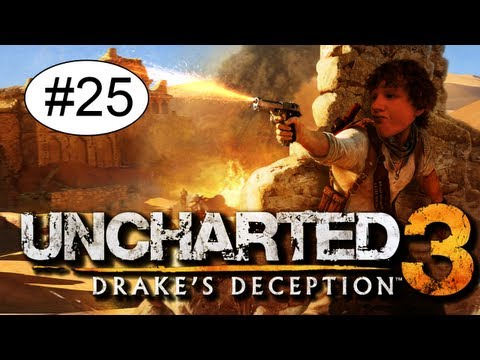 Uncharted 3 Drake's Deception Playthrough Deel 25 - Mannenliefde Tussen De Mannen