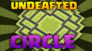 Clash Of Clans - Town Hall 9 Circle Defense Base - TOWN HALL 9 Defense 2016