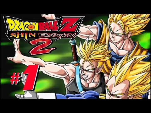 Dragon Ball Z: Shin Budokai Another Road (1080p 60fps) - Part 1 Playthrough