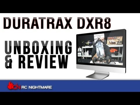 Duratrax DXR8 1/8 Scale Buggy Rolling Chasis Unboxing & First Review