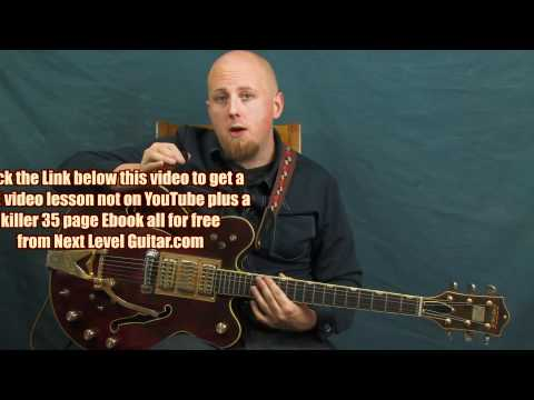 0 Learn Blues guitar Black Keys inspired lesson song I Got Mine style rhythms and solo licks