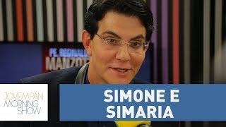 """""""Queridíssimas"""", diz Padre Reginaldo Manzotti sobre Simone e Simaria"""