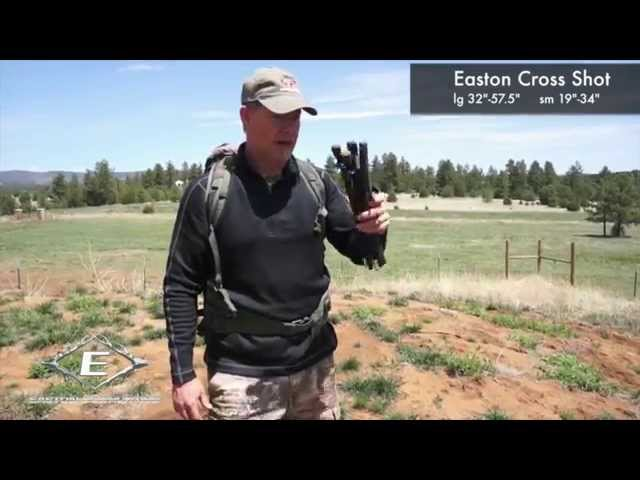 Easton Cross Shot Shooting Sticks - Fred Eichler