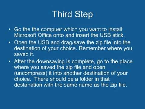 How to install MS office from one computer to another! Pause this video first