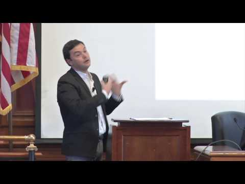 Thomas Piketty visits HLS to debate his book 'Capital in the Twenty-First Century'