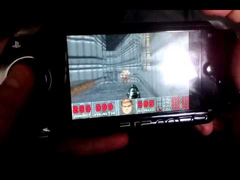 Doom 1 Game Boy Advance on PSP
