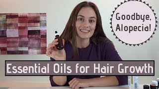 Essential Oil Blend For Hair Growth: Alopecia Areata