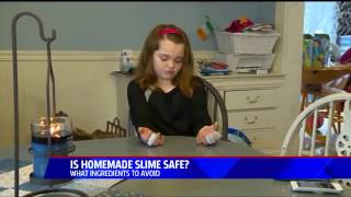 Fox5 - Making Non-Borax DIY Slime - March 28, 2017
