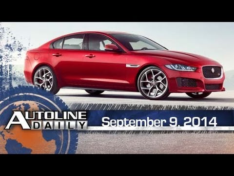 Jaguar Reveals XE Sedan, The Dude Doesn't Abide - Autoline Daily 1453