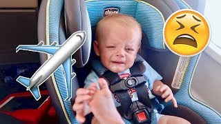 😫 REALITY OF FLYING WITH 2 TODDLERS ✈️