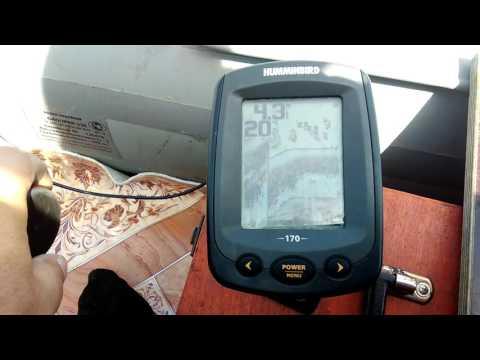 576x эхолот humminbird видео