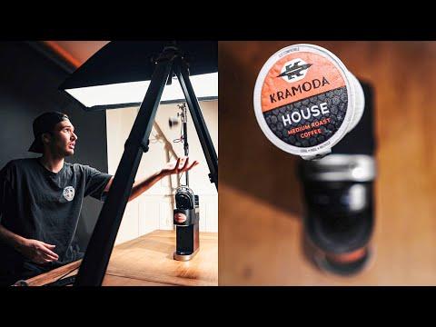 How I made the KRAMODA Commercial   Zane & Heath's Coffee Brand