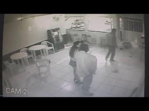 09 07 2014, Imagens do Duplo Homicidio e tentativa de homicidio em Videira SC