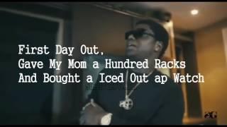 Lyrics Kodak Black First Day Out Freestyle