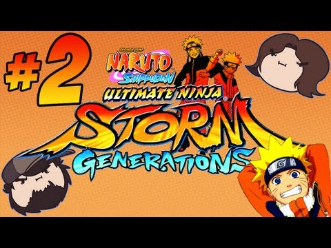 Naruto Shippuden Ultimate Ninja Storm Generations: Chakra - Part 2 - Game Grumps Vs video