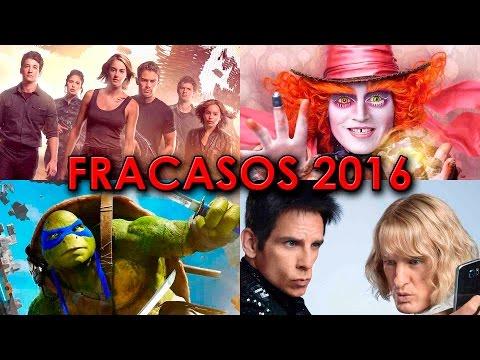 TOP 12 PEORES FRACASOS EN TAQUILLA DEL 2016   PEORES PELICULAS   ENTRANDO AL CINE   WOW QUE PASA