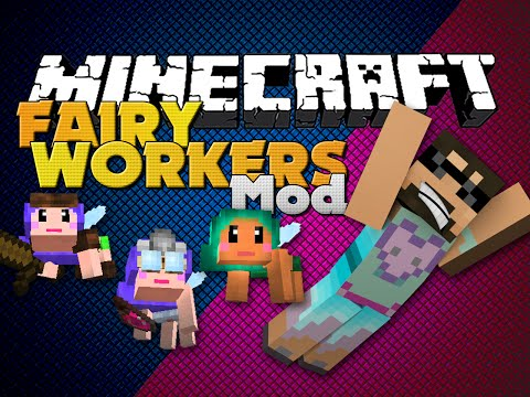 Minecraft - Fairy Mod - Fairy Factions That Work For You video