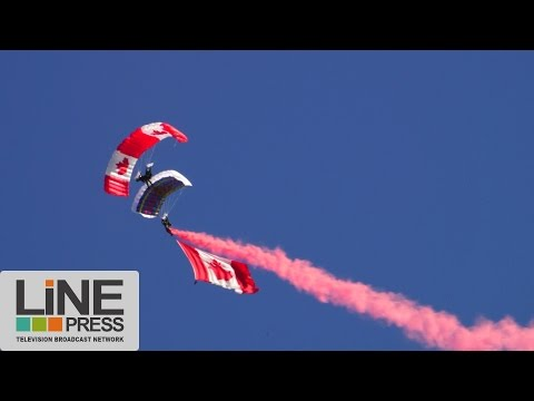 Les aérostiers et les Skyhawks à l'international de montgolfières / Montréal - Canada 17 août 2014