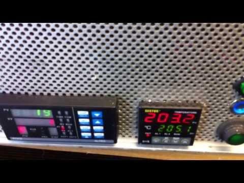Home made BGA rework / reballing station Black Ir (Infrared)