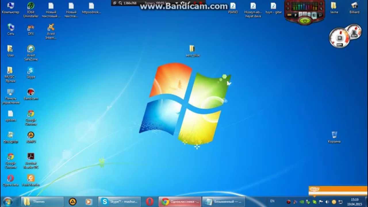 как установить тем windows 7: