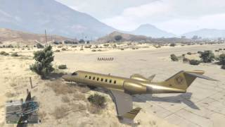 INSIDE $10 MILLION PLANE GTA V