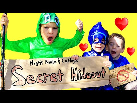 Download PJ Masks SECRET CLUBHOUSE Night Ninja & Catboy ONLY! BFF Best Friends Full Episodes Mp4 baru