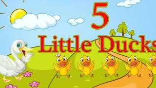 Five little ducks song 'Piano' / SaiyanBlack7 (Amateur)