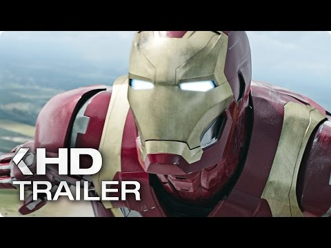 Captain America 3: Civil War ALL Trailer & Clips (2016)