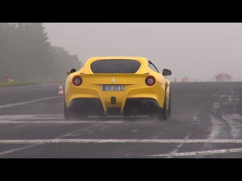 Supercars Accelerating! Rs6 Avant, 458 Speciale, R8 V10, M6, Gallardo, F12 video