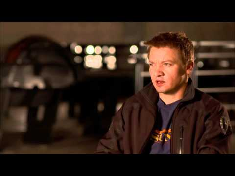 The Avengers: Official On Set Interview Jeremy Renner [HD]