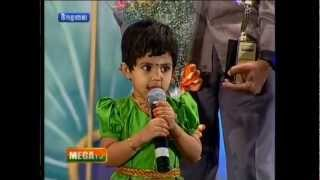 3 yrs old child says tamil years 60,thirukural,ramayanam,thiruvasagam  & get award from mega tv