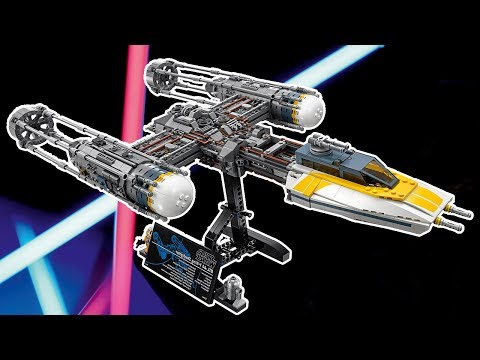 LEGO Star Wars Y-Wing Starfighter Designer Video | LEGO UCS 2018 Sets | 75181