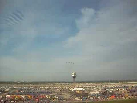 F15s Over Chicagoland Speedway Video
