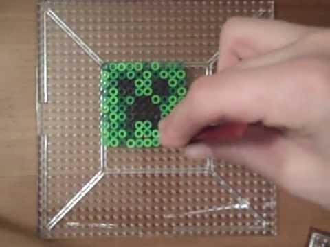 Perler Bead Tutorial: Minecraft - Creeper