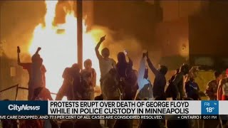 Ex-cop who knelt on George Floyd's neck arrested as protests continue