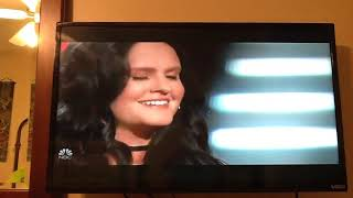 Natalie Bradys - Cover of Hearts  Brracude - Blind Auditions  The Voice Season 15 October 8, 2018.