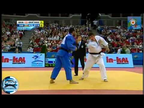 European Judo Championship Budapest 2013 Semifinal 66kg SHAVDATUASHVILI (GEO) - SHIKHALIZADA (AZE)