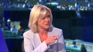 Serena/Andy Roddick interview BBC2 11/07/2015