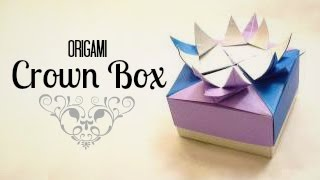 Origami Crown Box Instructions (tadashi Mori)